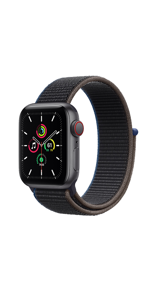 Cellular - 40mm - Space Gray Aluminum/Charcoal Sport Loop